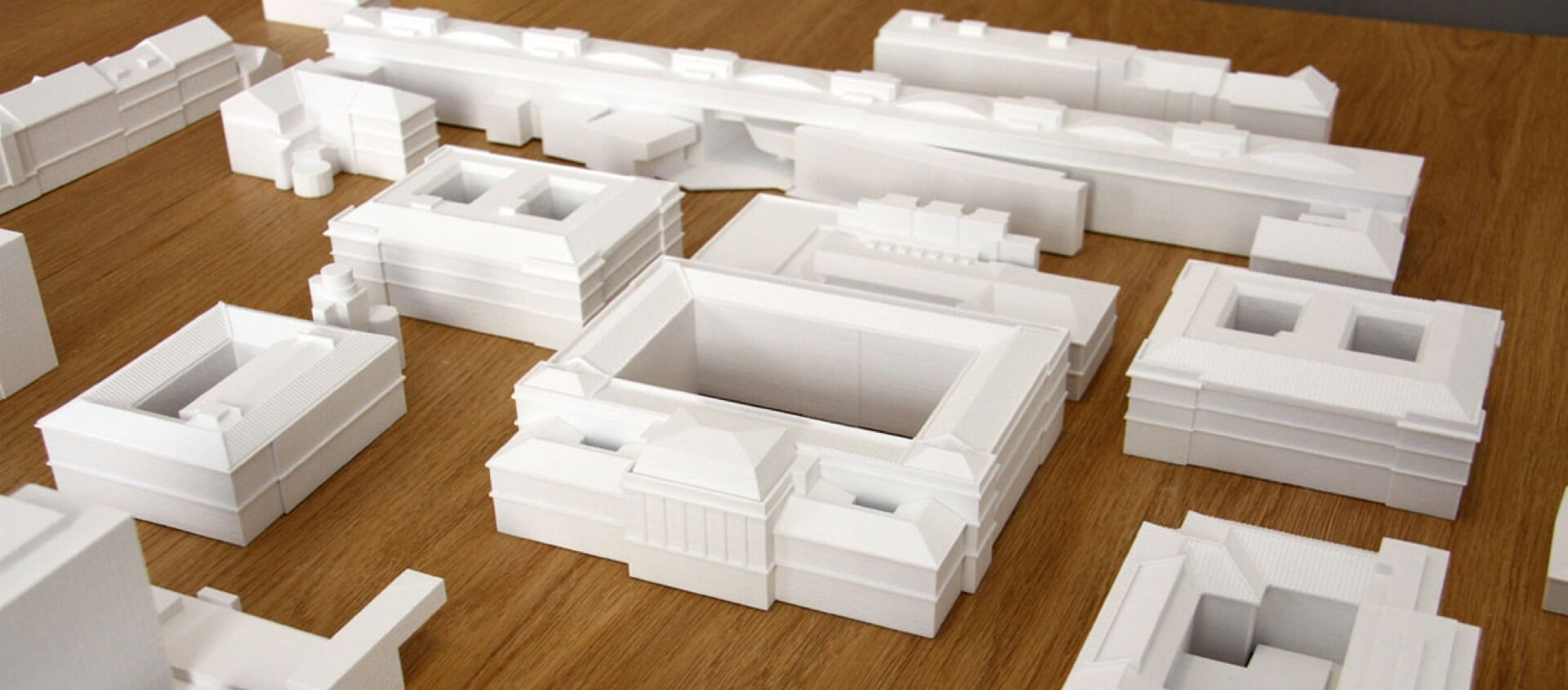 Detailgetreue Architekturmodelle